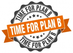 time for plan b stamp. sign. seal